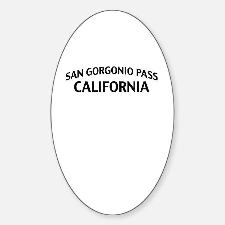 San Gorgonio Pass California Decal