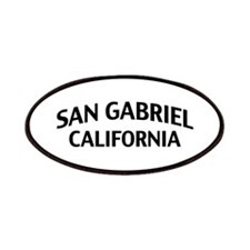 San Gabriel California Patches