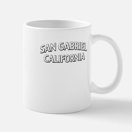 San Gabriel California Mug