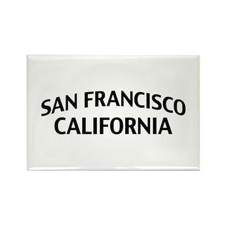 San Francisco California Rectangle Magnet
