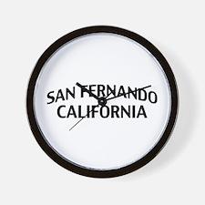 San Fernando California Wall Clock
