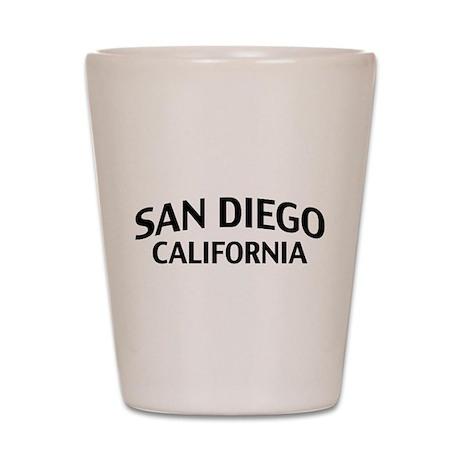 San Diego California Shot Glass