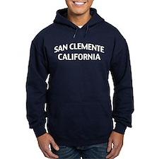 San Clemente California Hoodie