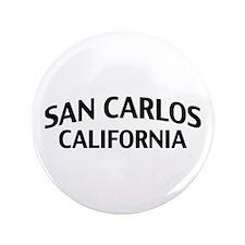 "San Carlos California 3.5"" Button"