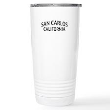 San Carlos California Travel Mug