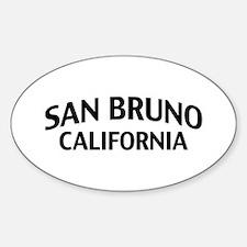 San Bruno California Decal