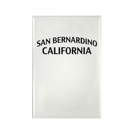 San Bernardino California Rectangle Magnet