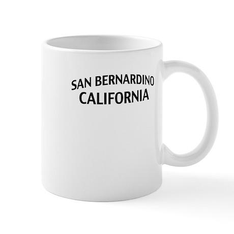 San Bernardino California Mug