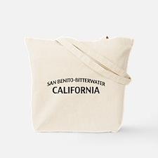 San Benito-Bitterwater California Tote Bag