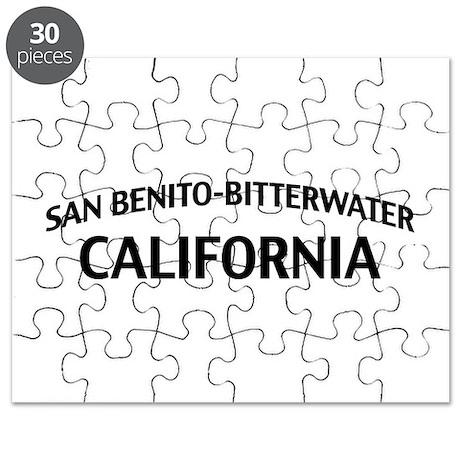 San Benito-Bitterwater California Puzzle
