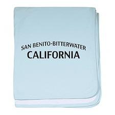 San Benito-Bitterwater California baby blanket