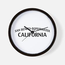 San Benito-Bitterwater California Wall Clock