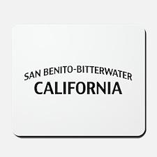 San Benito-Bitterwater California Mousepad