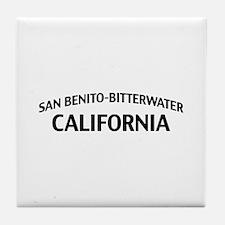 San Benito-Bitterwater California Tile Coaster