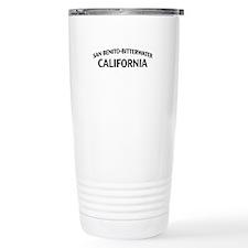 San Benito-Bitterwater California Travel Mug