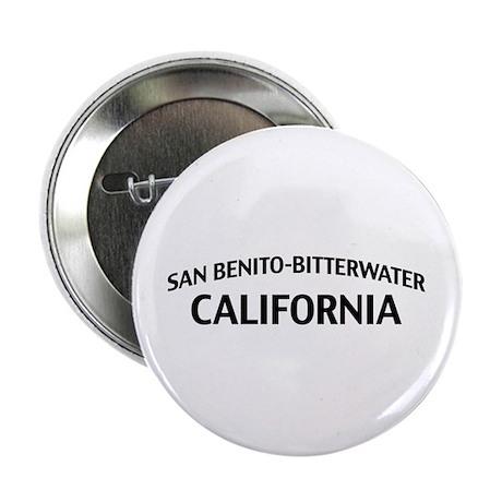 "San Benito-Bitterwater California 2.25"" Button"