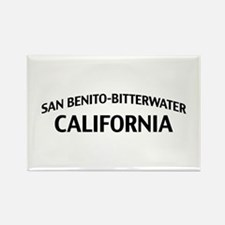 San Benito-Bitterwater California Rectangle Magnet
