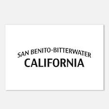 San Benito-Bitterwater California Postcards (Packa