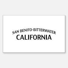 San Benito-Bitterwater California Decal
