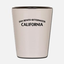 San Benito-Bitterwater California Shot Glass
