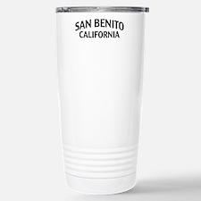 San Benito California Stainless Steel Travel Mug
