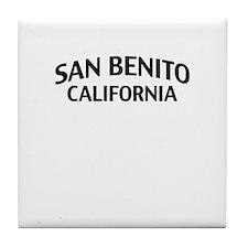 San Benito California Tile Coaster