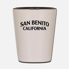 San Benito California Shot Glass