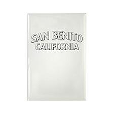 San Benito California Rectangle Magnet