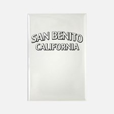 San Benito California Rectangle Magnet