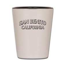 San Benito California Shot Glass