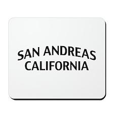 San Andreas California Mousepad