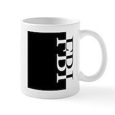 FBI Typography Small Mugs