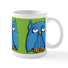 Aqua Owl green Mug