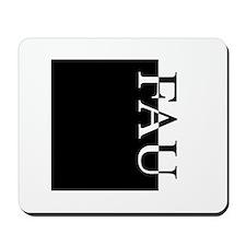 FAU Typography Mousepad