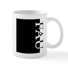 FAU Typography Mug