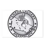 Canada Calgary LDS Mission Ma Postcards (Package o