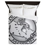 Canada Calgary LDS Mission Ma Queen Duvet