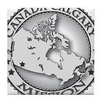 Canada Calgary LDS Mission Ma Tile Coaster