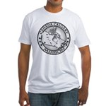 Canada Calgary LDS Mission Ma Fitted T-Shirt