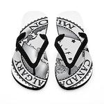 Canada Calgary LDS Mission Ma Flip Flops