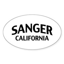 Sanger California Decal