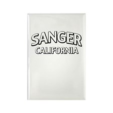 Sanger California Rectangle Magnet