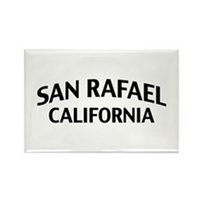 San Rafael California Rectangle Magnet