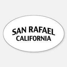 San Rafael California Decal