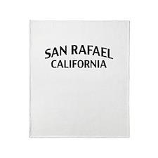 San Rafael California Throw Blanket