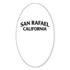 San Rafael California Decal