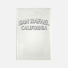 San Rafael California Rectangle Magnet