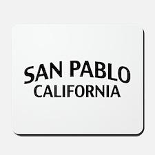 San Pablo California Mousepad