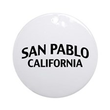San Pablo California Ornament (Round)