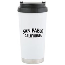 San Pablo California Travel Mug